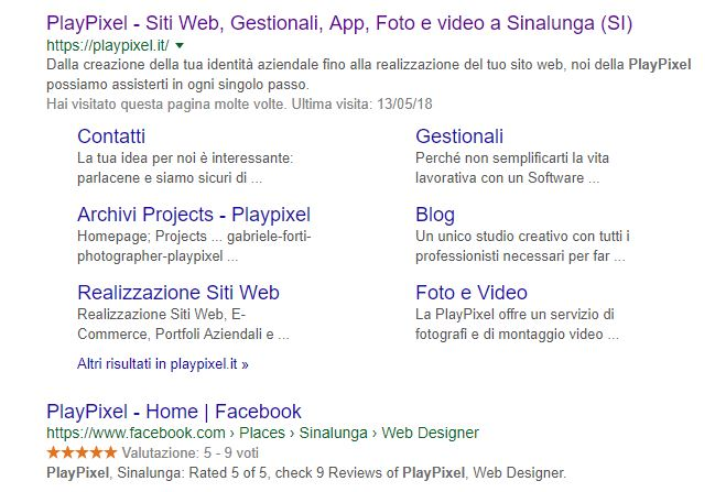 social media serp playpixel